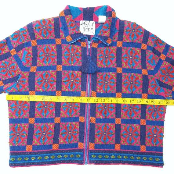 Michael Simon Sweater Womens Large Cardigan Vinta… - image 8