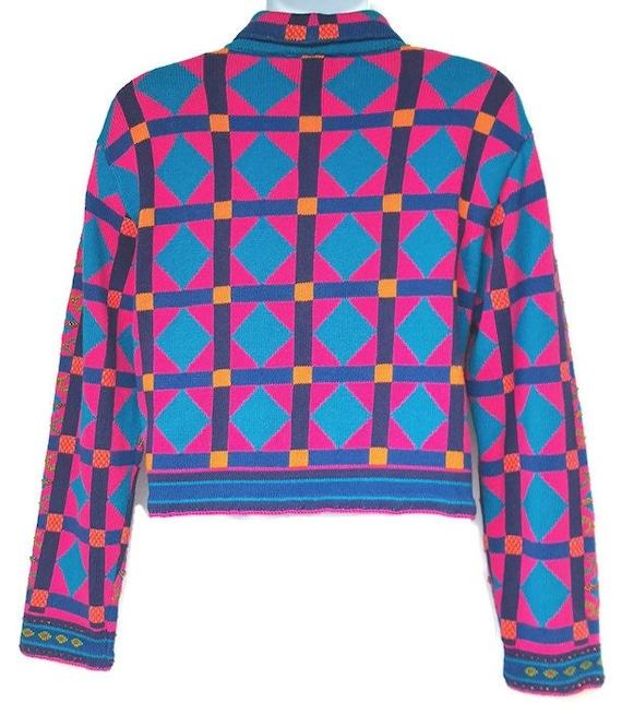 Michael Simon Sweater Womens Large Cardigan Vinta… - image 2