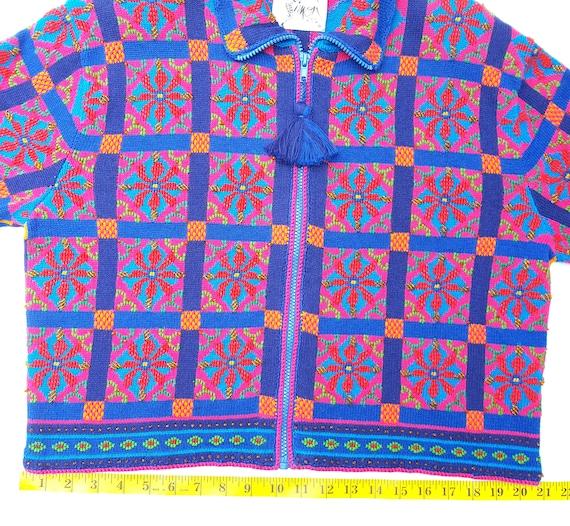 Michael Simon Sweater Womens Large Cardigan Vinta… - image 9