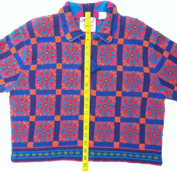 Michael Simon Sweater Womens Large Cardigan Vinta… - image 10
