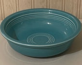 Vintage Fiesta Turquoise 7 Medium Bowl