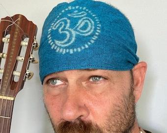 Blue Om Headband