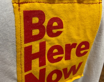 XXL  Be Here Now Patch Woman's Racerback Tank
