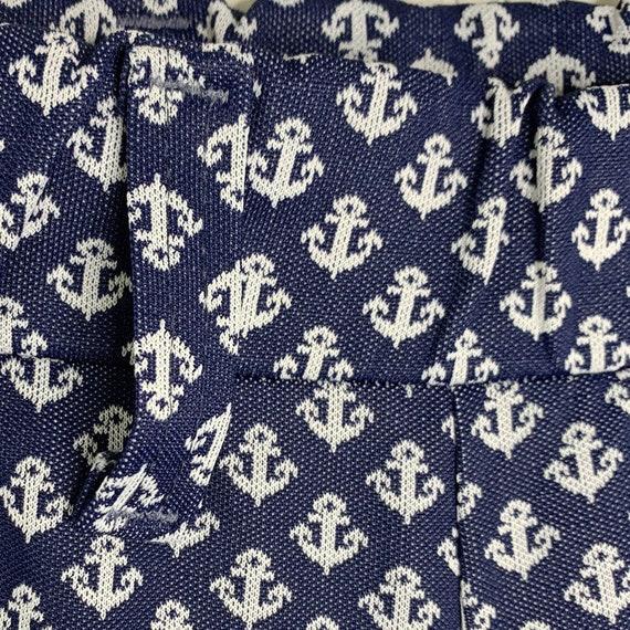 Vintage 1970's Lady Wrangler Nautical Anchor Prin… - image 3