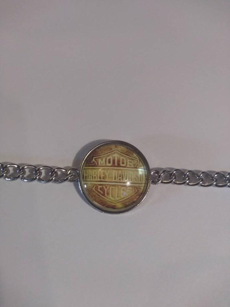 necklace Harley Davidson earrings bracelet /&or key chain #51