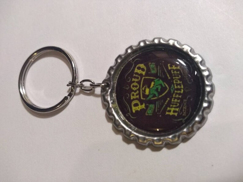 Harry Potter Proud Hufflepuff earrings necklace bracelet /&or key chain
