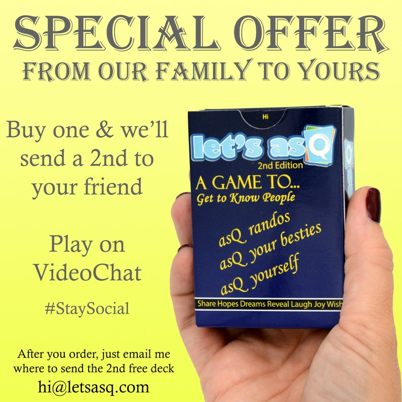 Lets asQ StaySocial Game image 0