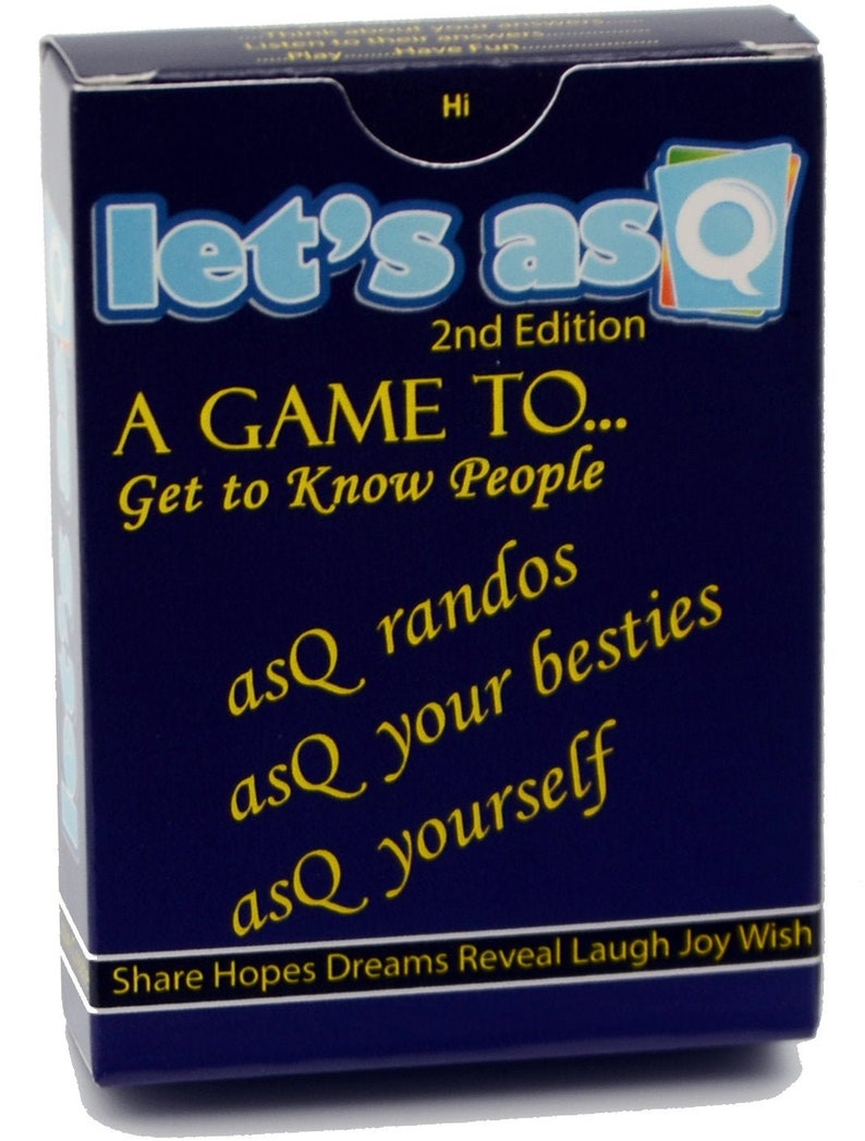 Lets asQ Card Game image 0