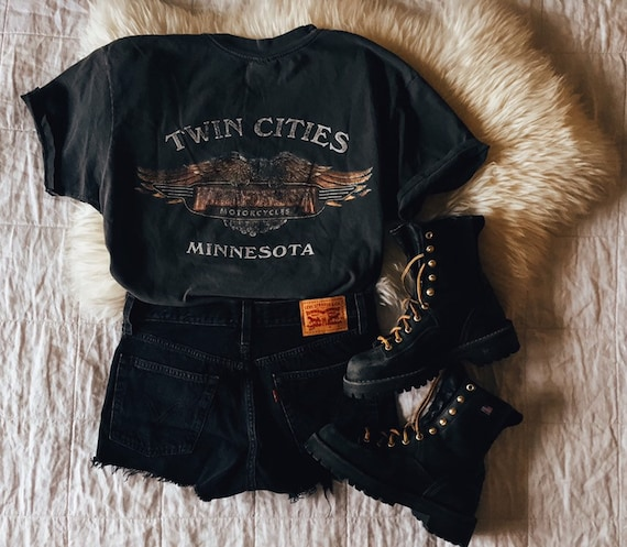 Vintage Harley Davidson t shirt | Twin Cities Minn