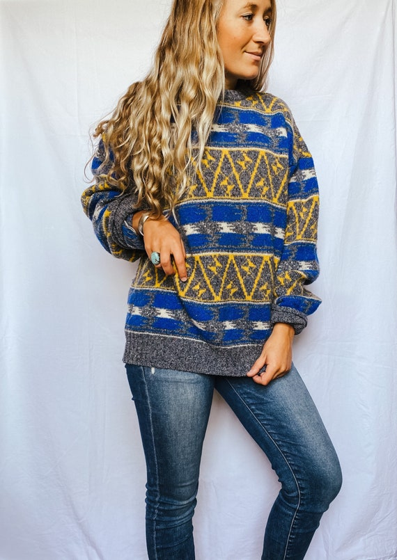 Vintage 80s 90s sweater   vintage jcpenny sweater