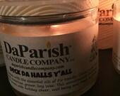 Deck Da Halls Y 39 All 11oz. Essential oils of fir needle, cedar wood, pine and clove. Unique, yet unmistakable Christmas fragrance.