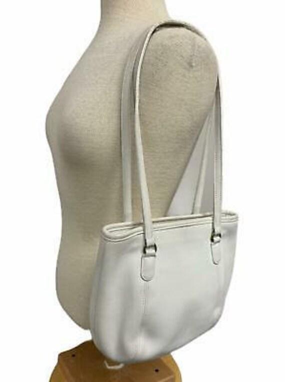 VTG Coach Medium Framed Shoulder Bag Purse 9996 H… - image 7
