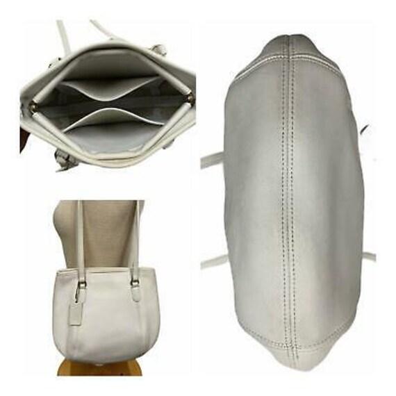 VTG Coach Medium Framed Shoulder Bag Purse 9996 H… - image 2