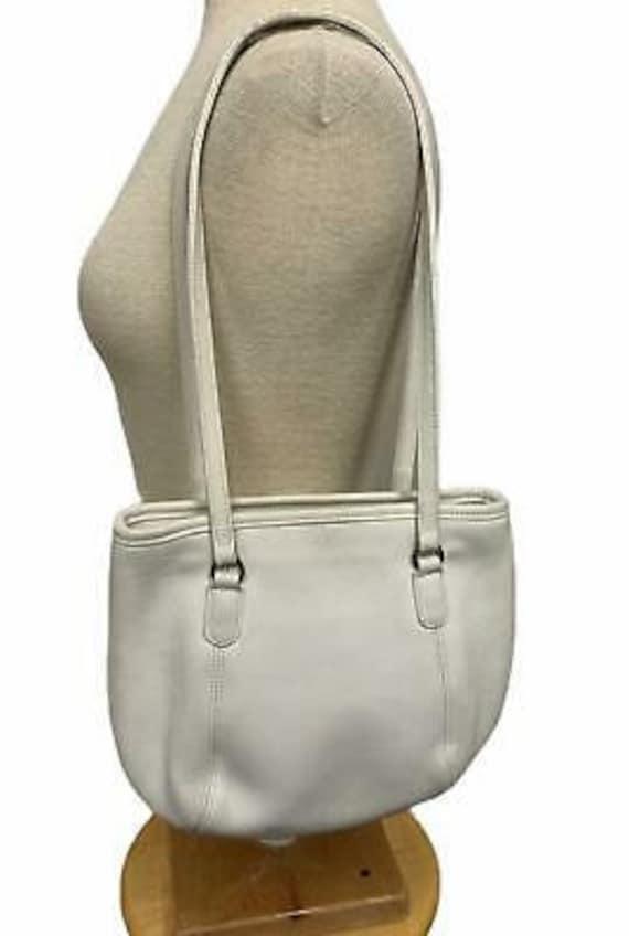 VTG Coach Medium Framed Shoulder Bag Purse 9996 H… - image 8