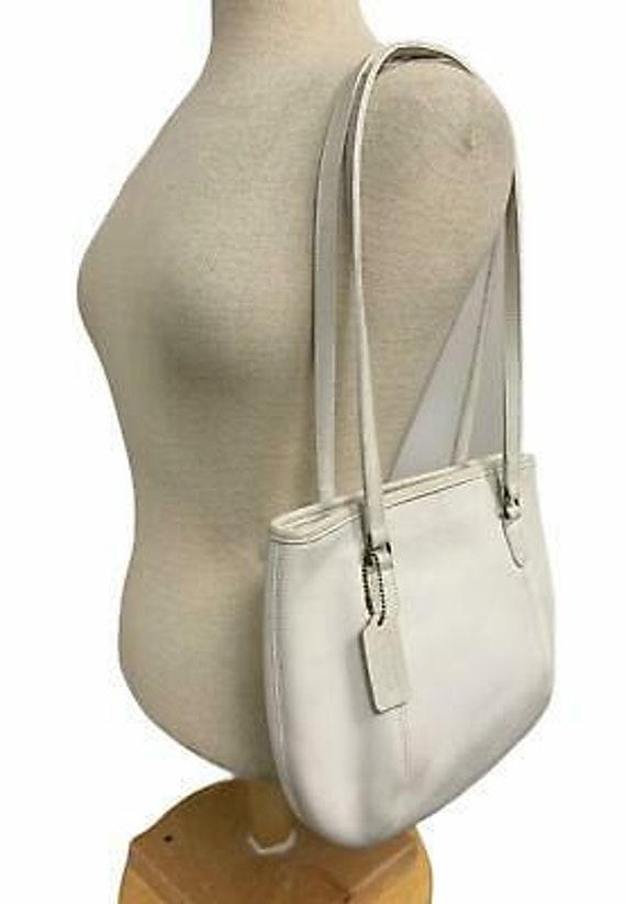 VTG Coach Medium Framed Shoulder Bag Purse 9996 H… - image 4