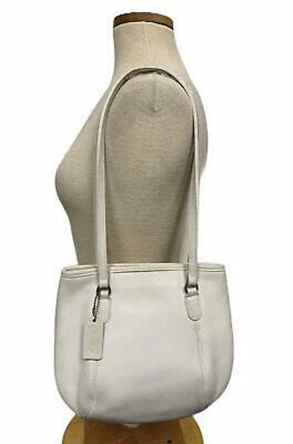 VTG Coach Medium Framed Shoulder Bag Purse 9996 H… - image 1