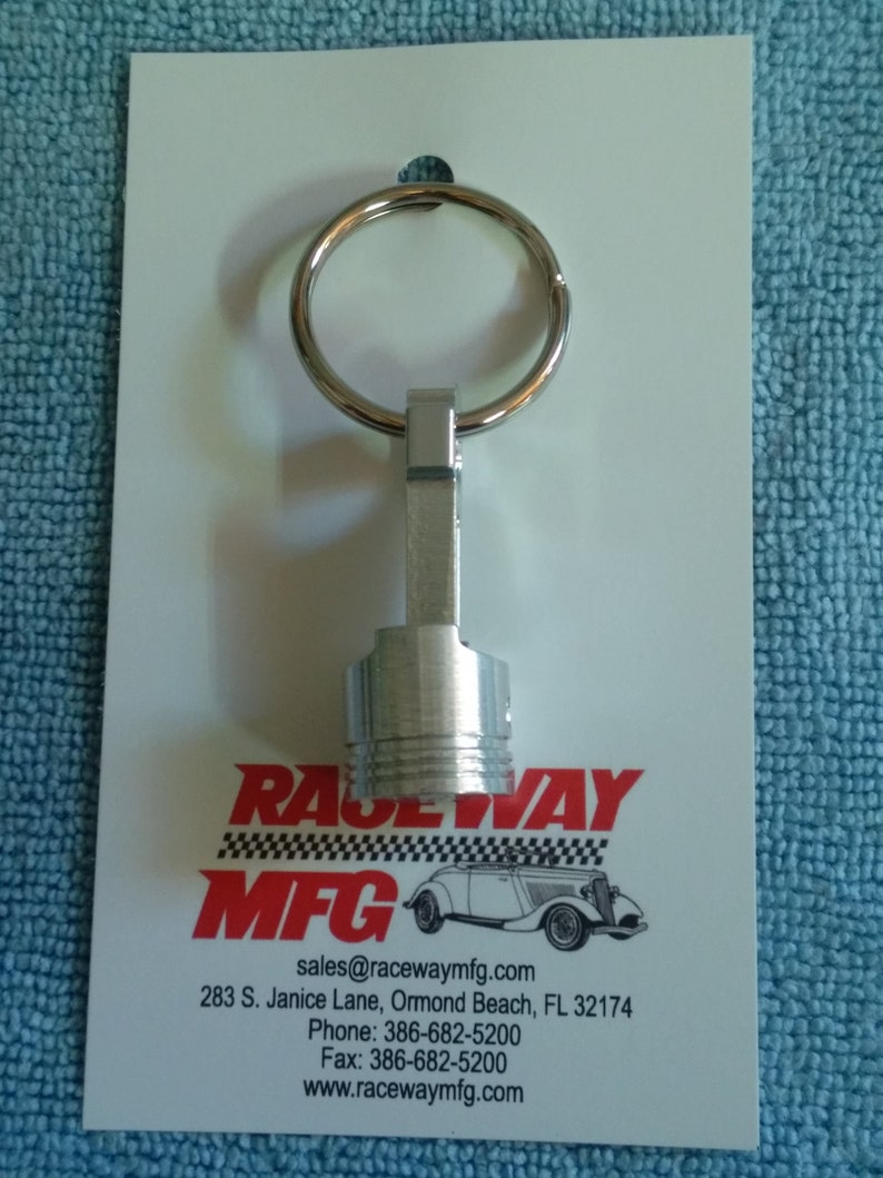 Piston Key Ring with 350