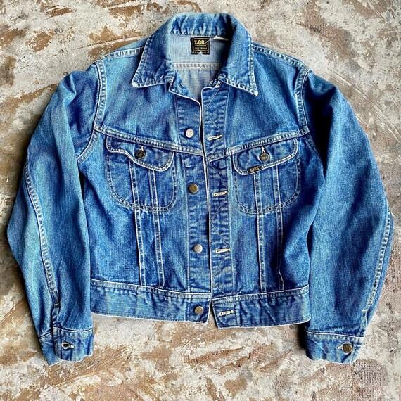 70s Lee Denim Jacket size Small