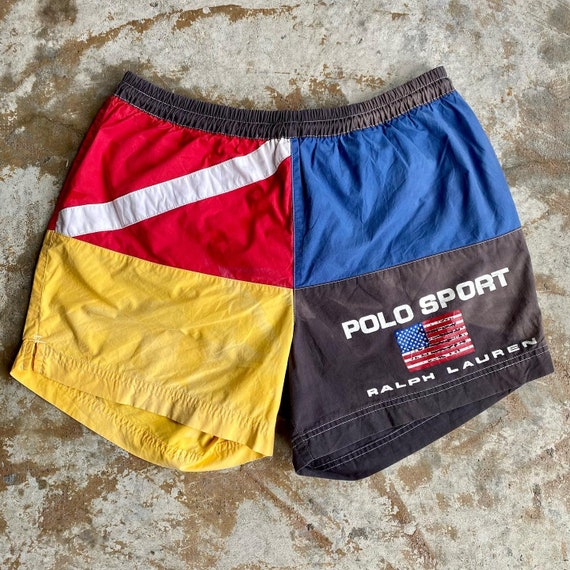 90s Vintage Polo Sport Ralph Lauren Swim Trunks
