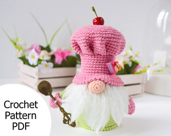 20 Free Amigurumi Gnome Toy Softies Crochet Patterns | Christmas ... | 270x340