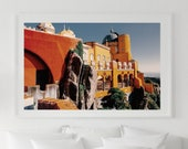 Castle Photography, Castle Digital Photo, Portugal, Sintra, Printable Wall Art, Digital Photo, Instant Download, Home Decor, Wall Decor