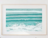 Ocean Print,Wall Decor, Modern Wall Art,Hamptons Decor,Ocean Wall Art,Beach Print,Ocean Waves Print,Beach Poster,Printable,Coastal Wall Art