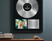 Personalized Graduation Gift, Graduation Gift for Her , College Graduation Gift For Him , Custom Graduation Framed Print, graduation present