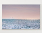 Beach Print, Ocean Print, Ocean Wall Art, Coastal Wall Art, Digital Download, Printable Poster, Wall Decor Print, Waves Print, Sea Poster