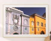 Portugal Poster, Lisbon Wall Art, Downloadable Prints, Prints Portugal, Printable Wall Art, Sintra Print , Pena Castle, Wall Art