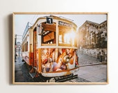 Lisbon Print, Portugal Tram Poster, Lisbon Wall Art, Downloadable Prints, Lisbon City Photography, Prints Portugal, Printable Wall Art
