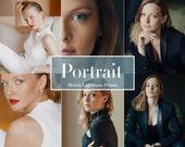 6 Mobile Lightroom Presets Portrait - Instagram Presets, lifestyle presets, Lightroom Mobile Presets Mobile Lightroom, Blogger Filters