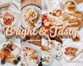 15 Food Blogger Preset, Mobile Lightroom Desktop Presets - Bright Preset, Retro Instagram Filters, Lightroom Mobile Preset, Photo Filters