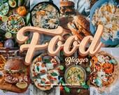 20 Food Blogger Preset, Mobile Lightroom Desktop Presets - Bright Preset, Food Presets, Lightroom Mobile Preset, Photo Filters, Food Filters