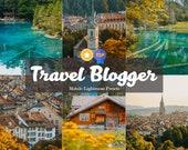 5 Lightroom Mobile Presets Pack - Travel Blogger - Filters for Photo, Instagram Presets, Lightroom Mobile Presets Mobile Lightroom
