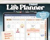 2021 Digital Planner   Goodnotes Digital Planner, Life Digital Planner, Boho Digital Planner, iPad Digital Planner   Digital Journal   PDF
