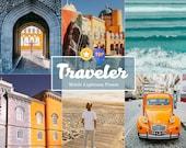 10 Mobile Lightroom Travel Presets Insta Blogger - Instagram Presets, lifestyle presets, Lightroom Mobile Presets Mobile Lightroom, blogger