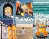 10 Mobile & Desktop Lightroom Presets Travel Blogger - Instagram Presets, Lightroom Presets Mobile Lightroom Desktop presets, Desktop Preset