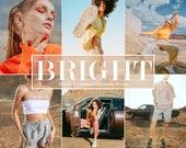 9 Mobile & Desktop Lightroom Presets Bright - Instagram Presets, lifestyle presets,Lightroom Mobile Presets Mobile Lightroom Premium Presets
