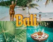 22 Bali Mobile Lightroom Desktop Presets - Instagram Presets, Summer Presets, Blogger Presets, Film Presets, Lightroom Mobile Presets