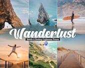 8 Travel Mobile Lightroom Desktop Presets - Blogger Instagram Filters, Lightroom Mobile Preset, Desktop Lightroom, Photo Filter for traveler