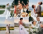 15 Wedding Mobile Lightroom Desktop Presets - Fine Art and Boho Wedding Presets, Instagram Filters, Lightroom Mobile Preset, Photo Filters