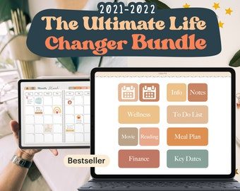 The Ultimate Life Planner Bundle, Planners for Goodnotes5 & Notability, 2021-2022 Digital Planner   Student Planner Bundle, The Best Planner