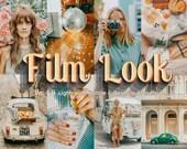15 Retro Mobile Lightroom Desktop Presets - Vintage Filters Instagram, Film Presets, Old Photo Filter, Lightroom Mobile Preset, Film Effects