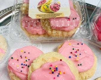 wax melts, wax tarts made like real cookies, faux cookies, holiday gifts, wax warmer, oil burner, wax melt cookie or pack