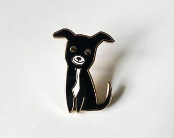White Chihuaha Pet Dog Metal Enamel Lapel Pin Badge XJKB14-05
