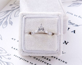 Everleigh: Intricate Nesting Band Wedding Ring