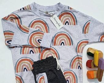 4T Rainbow Sweater