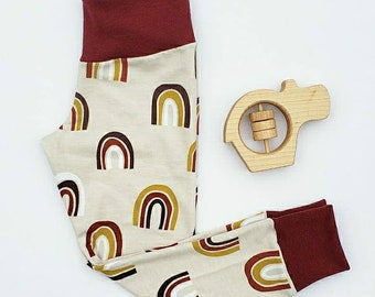 Boho rainbow leggings