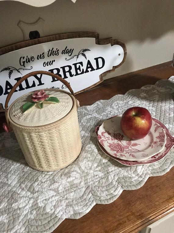 Vintage Biscuit Jar