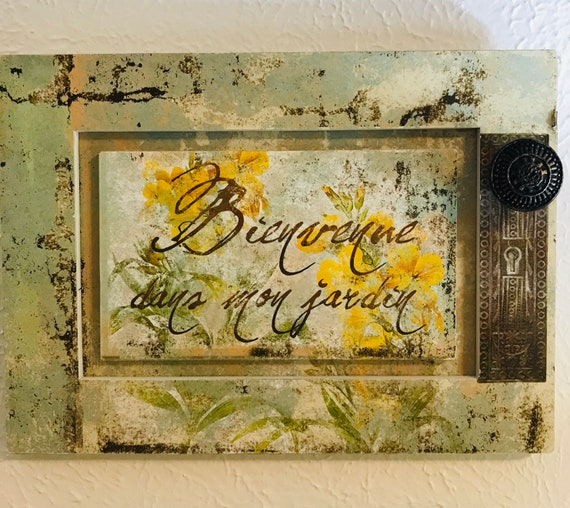 Country French Wall Plaques